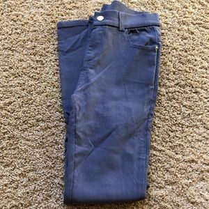Pants - grey jeggings with front and back pockets